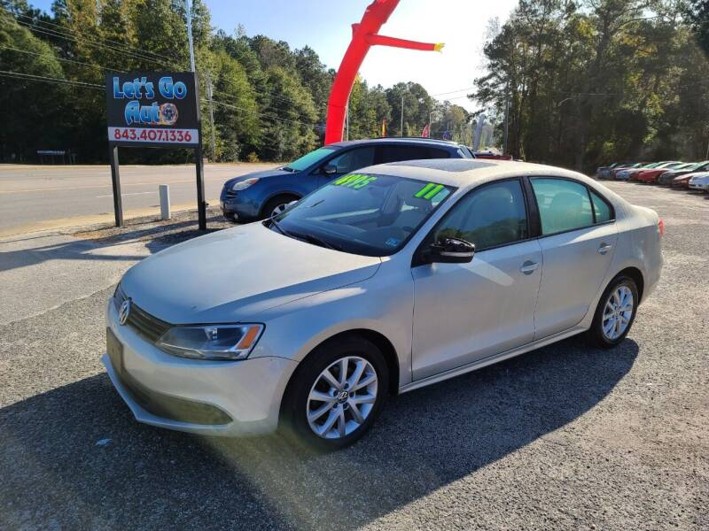 2011 Volkswagen Jetta for sale at Let's Go Auto in Florence SC