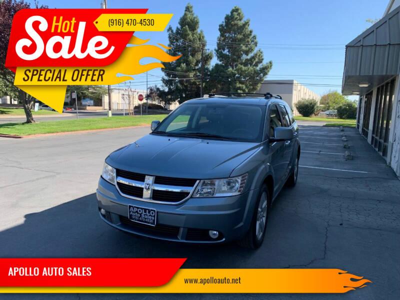 2010 Dodge Journey for sale at APOLLO AUTO SALES in Sacramento CA