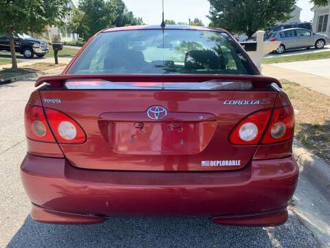 2006 Toyota Corolla for sale at Via Roma Auto Sales in Columbus OH