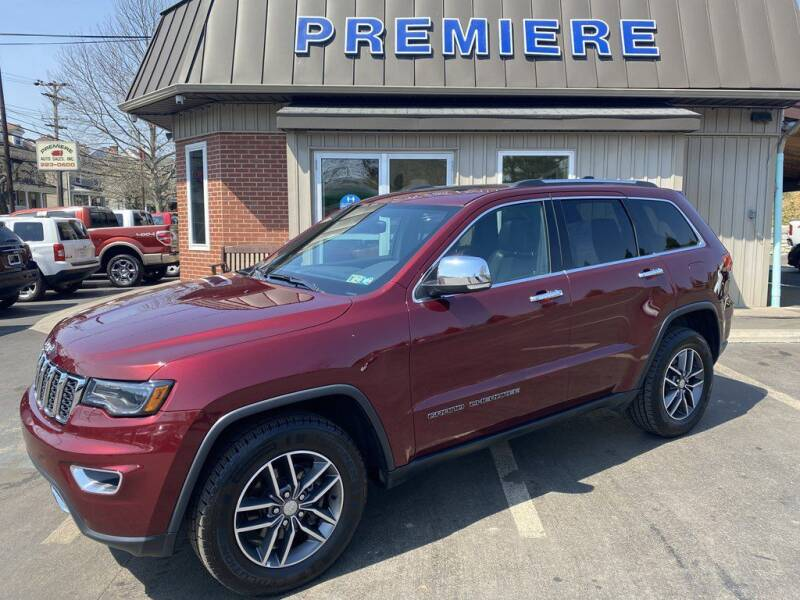 2017 Jeep Grand Cherokee for sale at Premiere Auto Sales in Washington PA