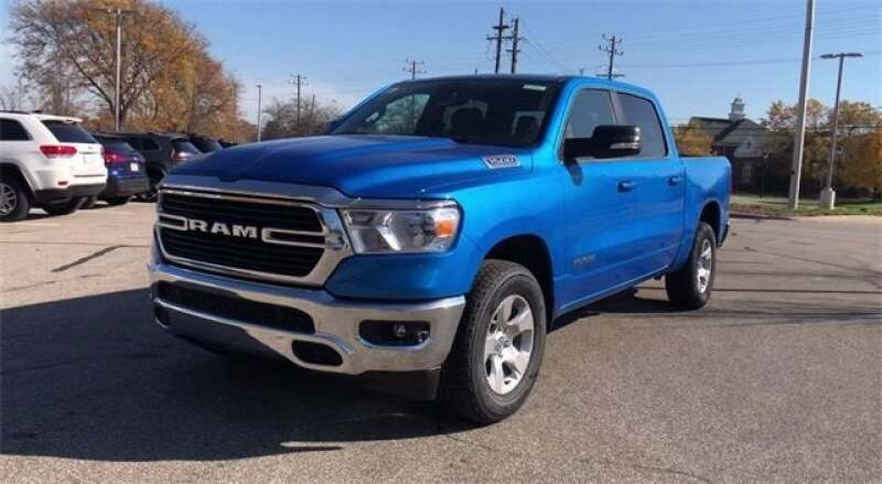 "2021 RAM Ram Pickup 1500 RAM 1500 BIG HORN CREW CAB 4X4 5'7 BOX"""" - North Olmsted OH"