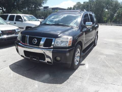 2007 Nissan Armada for sale at FAMILY AUTO BROKERS in Longwood FL