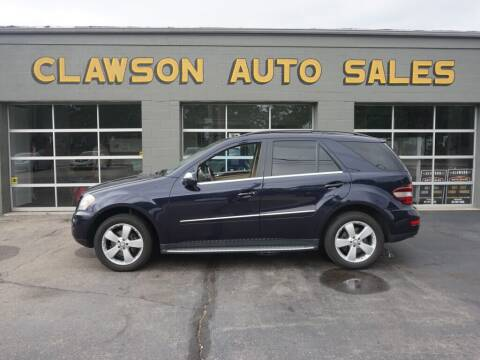 2010 Mercedes-Benz M-Class for sale at Clawson Auto Sales in Clawson MI