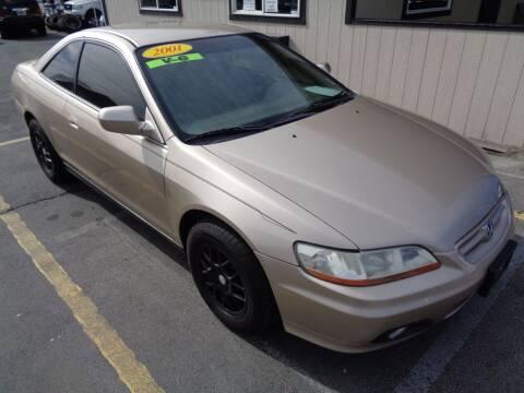 2001 Honda Accord for sale at BBL Auto Sales in Yakima WA
