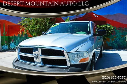 2011 RAM Ram Pickup 1500 for sale at DESERT MOUNTAIN AUTO LLC in Tucson AZ