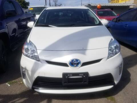 2015 Toyota Prius for sale at Ournextcar/Ramirez Auto Sales in Downey CA