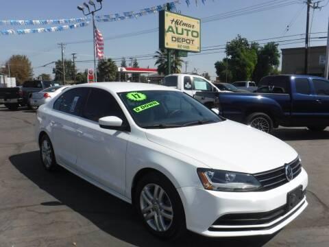 2017 Volkswagen Jetta for sale at HILMAR AUTO DEPOT INC. in Hilmar CA