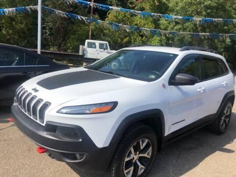 2017 Jeep Cherokee for sale at Matt Jones Preowned Auto in Wheeling WV