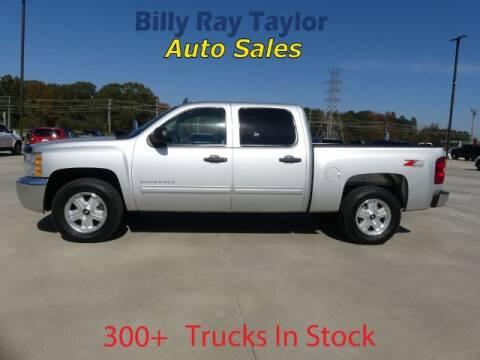 2012 Chevrolet Silverado 1500 for sale at Billy Ray Taylor Auto Sales in Cullman AL