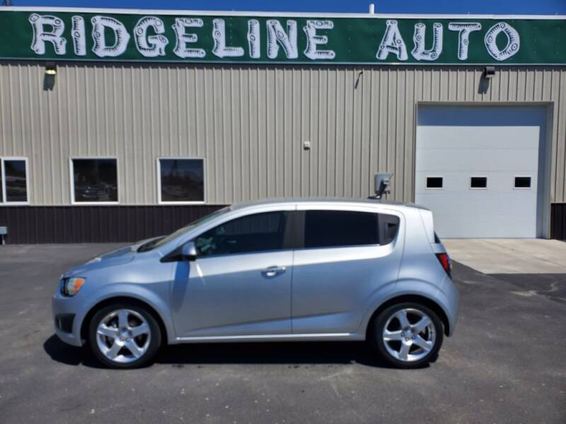 2014 Chevrolet Sonic for sale at RIDGELINE AUTO in Chubbuck ID