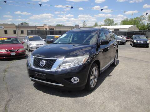 2014 Nissan Pathfinder for sale at A&S 1 Imports LLC in Cincinnati OH