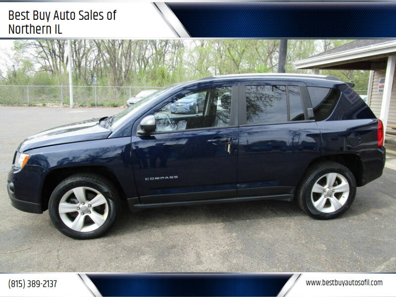 2012 Jeep Compass for sale at Best Buy Auto Sales of Northern IL in South Beloit IL