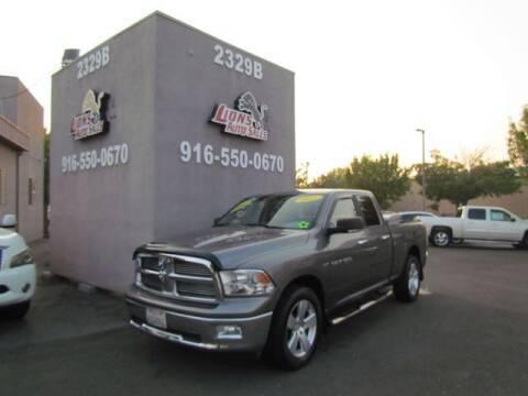 2011 RAM Ram Pickup 1500 for sale at LIONS AUTO SALES in Sacramento CA