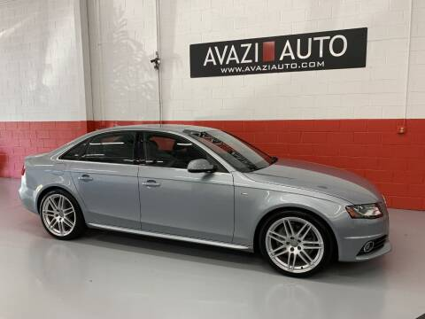 2011 Audi A4 for sale at AVAZI AUTO GROUP LLC in Gaithersburg MD
