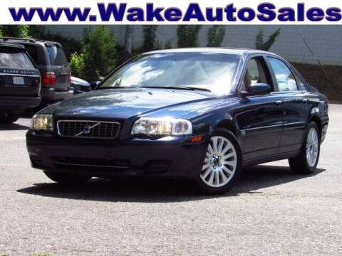 2004 Volvo S80 for sale at Wake Auto Sales Inc in Raleigh NC