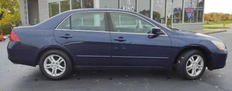 2007 Honda Accord for sale at Hilltop Auto in Clare MI