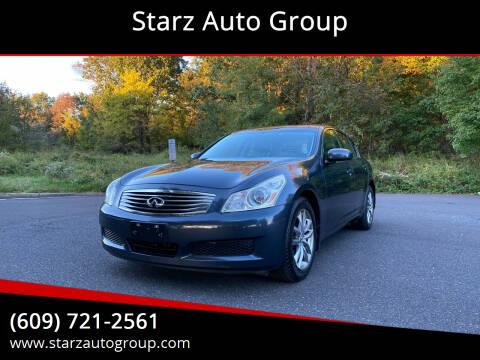 2008 Infiniti G35 for sale at Starz Auto Group in Delran NJ