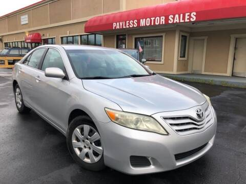 2010 Toyota Camry for sale at Payless Motor Sales LLC in Burlington NC