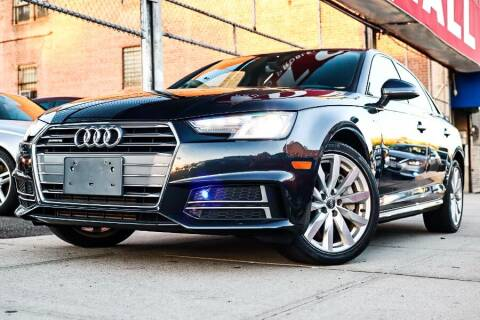 2018 Audi A4 for sale at HILLSIDE AUTO MALL INC in Jamaica NY
