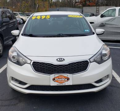 2015 Kia Forte for sale at Healey Auto in Rochester NH