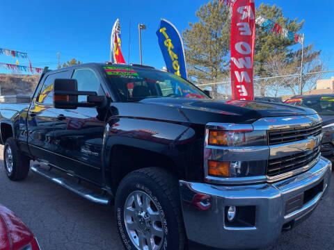 2015 Chevrolet Silverado 2500HD for sale at Duke City Auto LLC in Gallup NM