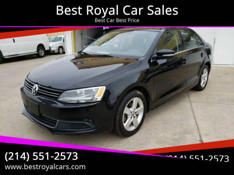 2014 Volkswagen Jetta for sale at Best Royal Car Sales in Dallas TX
