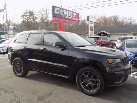 2019 Jeep Grand Cherokee for sale at Comet Auto Sales in Manchester NH