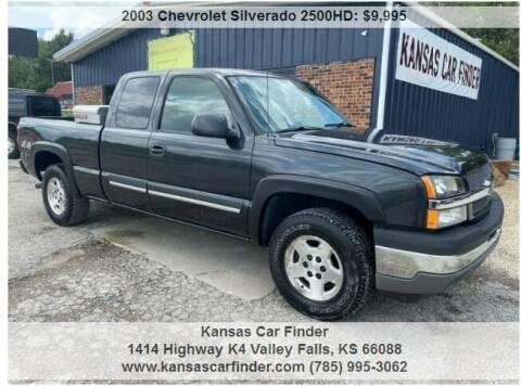 2005 Chevrolet Silverado 1500 for sale at Kansas Car Finder in Valley Falls KS