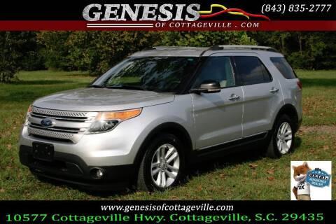 2012 Ford Explorer for sale at Genesis Of Cottageville in Cottageville SC