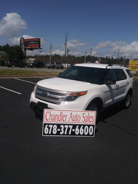 2013 Ford Explorer for sale at Chandler Auto Sales - ABC Rent A Car in Lawrenceville GA