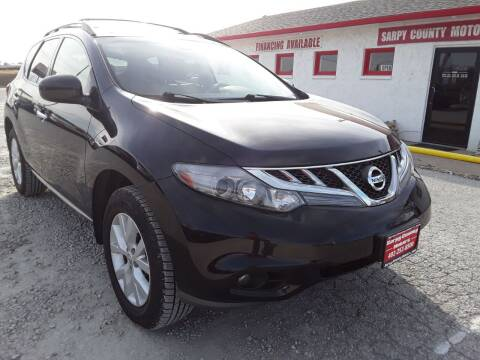 2012 Nissan Murano for sale at Sarpy County Motors in Springfield NE