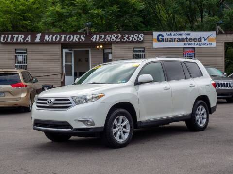 2012 Toyota Highlander for sale at Ultra 1 Motors in Pittsburgh PA