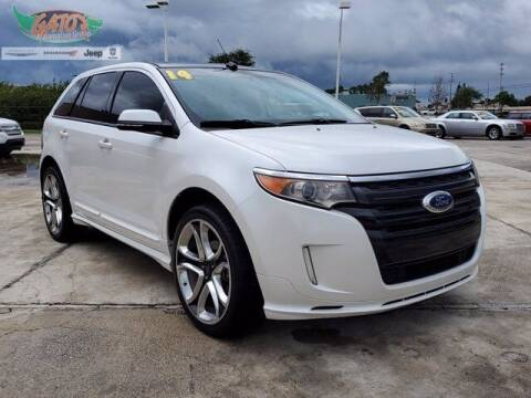 2014 Ford Edge for sale at GATOR'S IMPORT SUPERSTORE in Melbourne FL