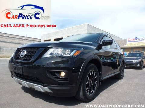 2020 Nissan Pathfinder for sale at CarPrice Corp in Murray UT