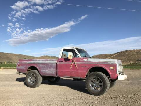 1971 Chevrolet C/K 2500 Series for sale at Classic Car Deals in Cadillac MI