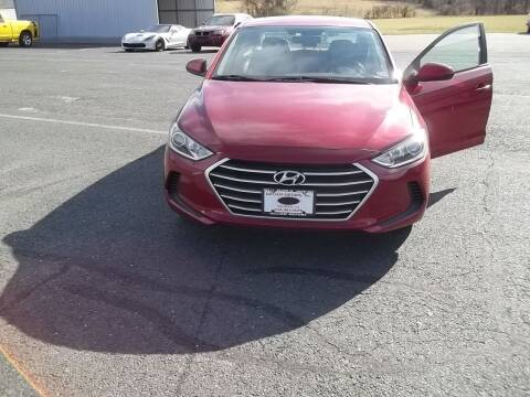 2017 Hyundai Elantra for sale at Gilliam Motors Inc in Dillwyn VA
