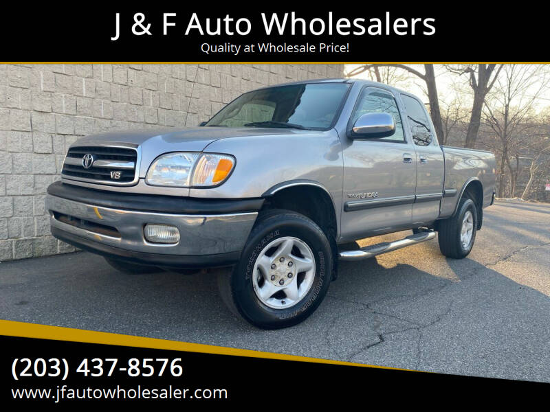 2001 Toyota Tundra for sale at J & F Auto Wholesalers in Waterbury CT