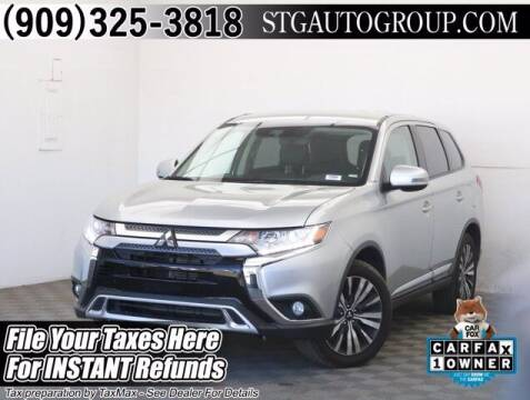 2020 Mitsubishi Outlander for sale at STG Auto Group in Montclair CA