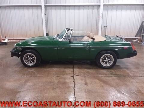 1977 MG MGB for sale at East Coast Auto Source Inc. in Bedford VA
