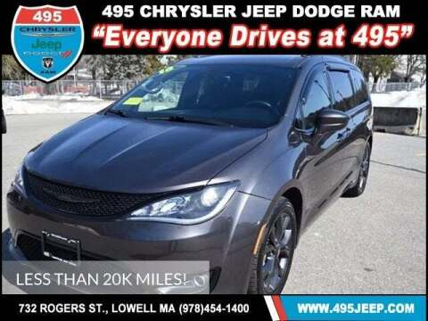 2018 Chrysler Pacifica for sale at 495 Chrysler Jeep Dodge Ram in Lowell MA