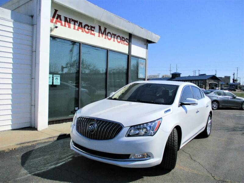 2015 Buick LaCrosse for sale at Vantage Motors LLC in Raytown MO