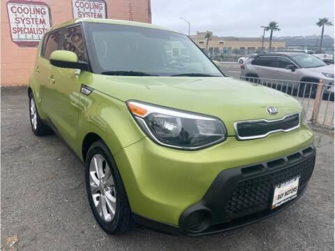 2015 Kia Soul for sale at SF Bay Motors in Daly City CA