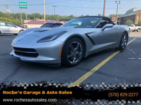2015 Chevrolet Corvette for sale at Roche's Garage & Auto Sales in Wilkes-Barre PA