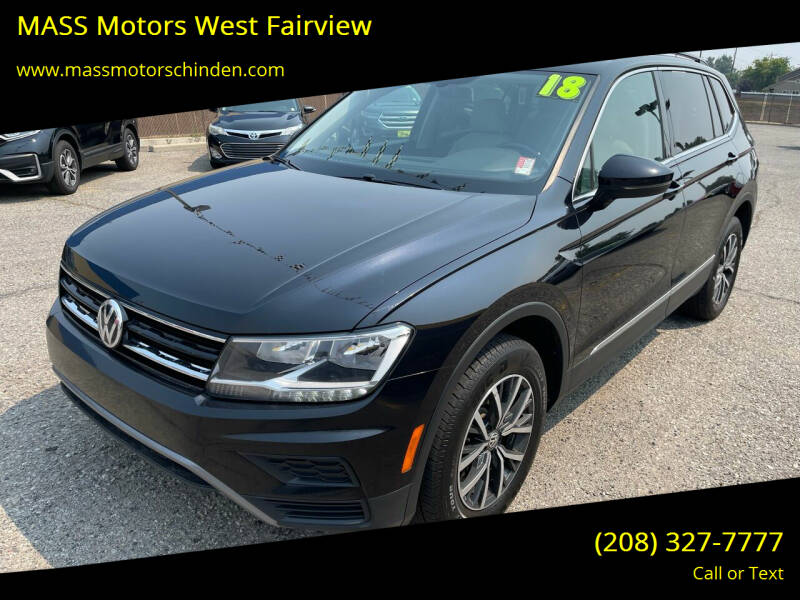 2018 Volkswagen Tiguan for sale at MASS Motors West Fairview in Boise ID