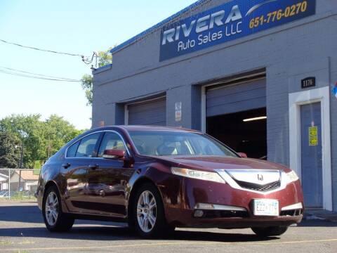 2009 Acura TL for sale at Rivera Auto Sales LLC in Saint Paul MN