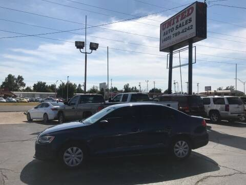 2013 Volkswagen Jetta for sale at United Auto Sales in Oklahoma City OK