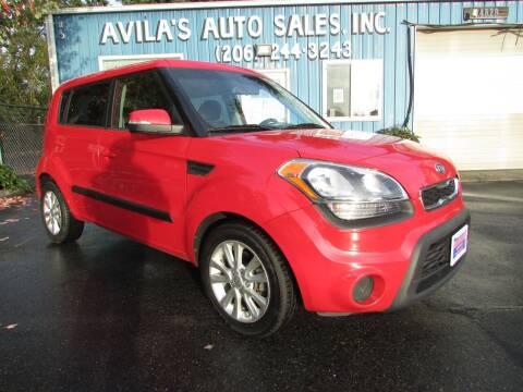 2012 Kia Soul for sale at Avilas Auto Sales Inc in Burien WA