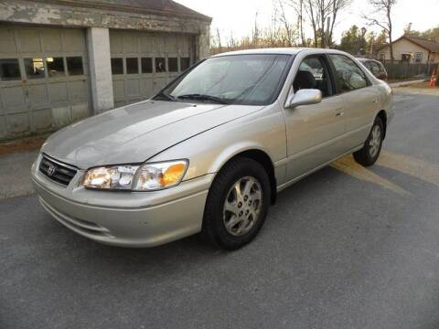 2001 Toyota Camry for sale at STURBRIDGE CAR SERVICE CO in Sturbridge MA