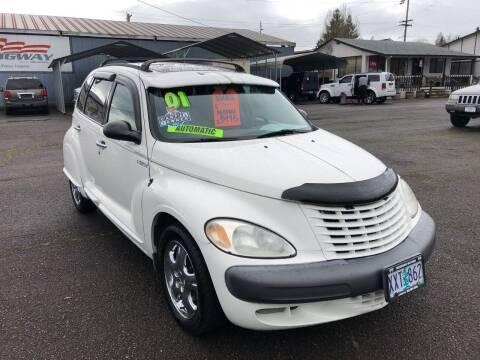 2001 Chrysler PT Cruiser for sale at Freeborn Motors in Lafayette, OR