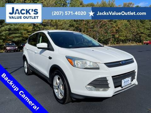 2016 Ford Escape for sale at Jack's Value Outlet in Saco ME